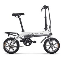 RichBit RT-618 14 Inch Folding Electric Bike 36V 250W 10.2Ah Lithium Battery Electric Bicycle Folding Electric Mountain Bike