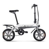 RichBit RT 618 14 Inch Folding Electric Bike 36V 250W 10.2Ah Lithium Battery Electric Bicycle Folding Electric Mountain Bike