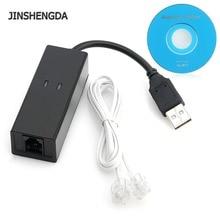 Модем USB 2,0 факс 56 K модем набор Интернет голосовых данных V90 V92 для Win 7 8 XP Linux дропшиппинг