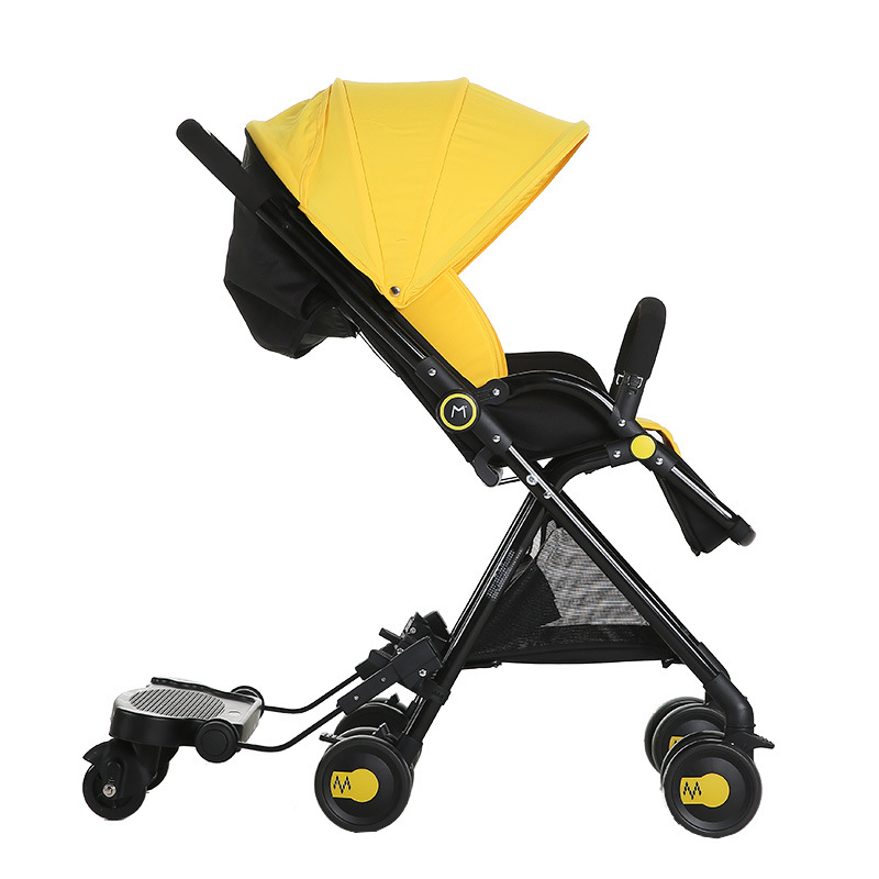 Activity & Gear Mother & Kids Adroit Baby Stroller Pedal Standing Boardbaby Skateboard General Baby Stroller General Use Pedal Plate Handcars