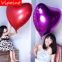 VIPOINT PARTY 22inch blue gold silver love heart foil balloons wedding event christmas halloween festival birthday party HY-329