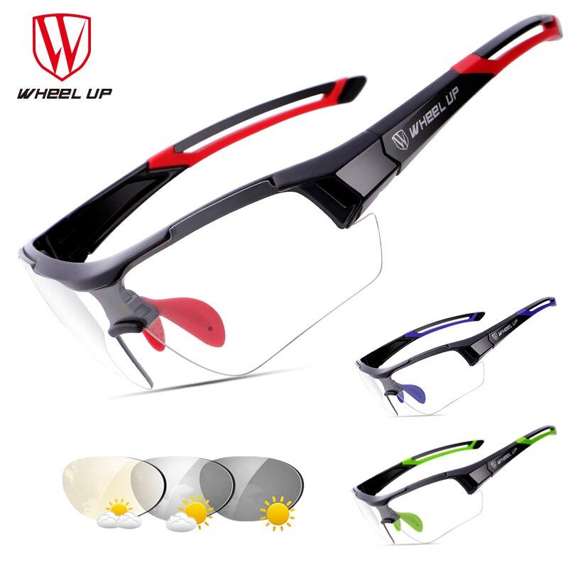 Fotokromatska kolesarska sončna očala v teku za moške Jahanje - Kolesarjenje - Fotografija 2