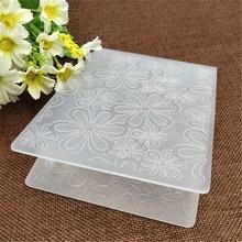 Цветок пластиковые папки для тиснения для DIY скрапбукинга бумаги ремесло/открыток украшения поставки