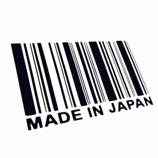 JDM Made In Japan Bar Code Vinilo Styling Car Sticker For Toyotahonda Nissan