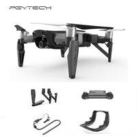 PGYTECH DJI Mavic AIR set Accessories Landing Gear & Controller Clasp & Control Stick Protector & Lens hood for mavic air drone