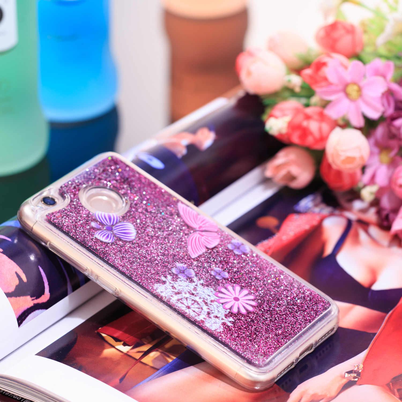 Блестящий Жидкий чехол для Xiaomi Redmi 4X4 X Redmi4X силиконовый термополиуретановый чехол для телефона Xiomi Redmi X4 xaomi Redmi 4X Funda Coque