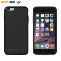 Novpeak External Battery Charger Case For IPhone 6 6s 6Plus 6sPlus Backup Charging Power Bank Pack