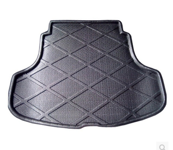 Trunk Tray Liner Cargo Mat Floor Protector foot pad mats For RENAULT Fluence 2011-2017 (Black,Beige)