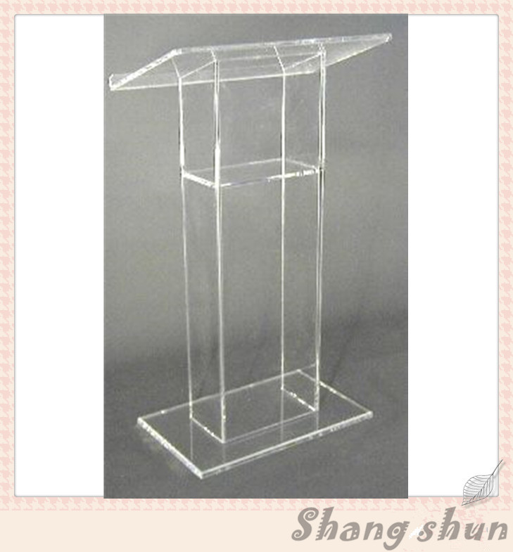 lectern for the church clear plexiglass acrylic lectern