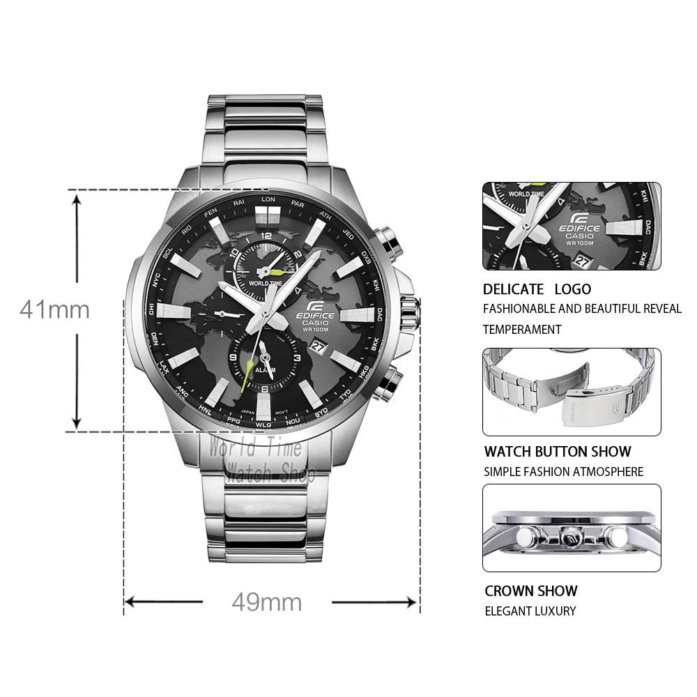 6b0fc353c067 Bărbaţi   s ceasuri Casio watch Edifice Men s quartz sports watch trend  classic casual business steel waterproof watch EFR-303