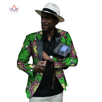 Couture Prined Suit Coat Men Casual Fashion Blazer Slim Elegant