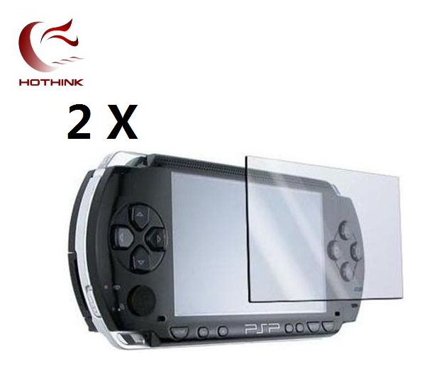 HOTHINK New 2pcs/lot LCD Screen Protector For PSP 2000 / PSP 3000 3001 3004 3008 / PSP 1000 Fat цена и фото