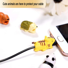 6pcs/ 7pcs/8pcs Cute Cable Bite Protector for Iphone Cable Cable Biters usb Dog Cat Animal Phone Connector Accessory Protects(China)