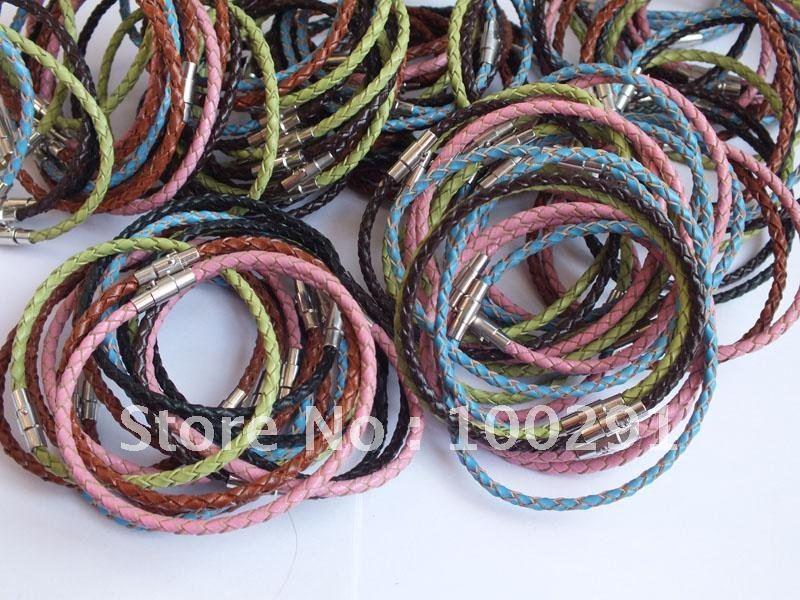 3 мм 19-22 см можно выбрать(белый размер, который вы хотите в сообщении, ОК) модный браслет из натуральной кожи веревочный браслет подходит для ювелирных изделий