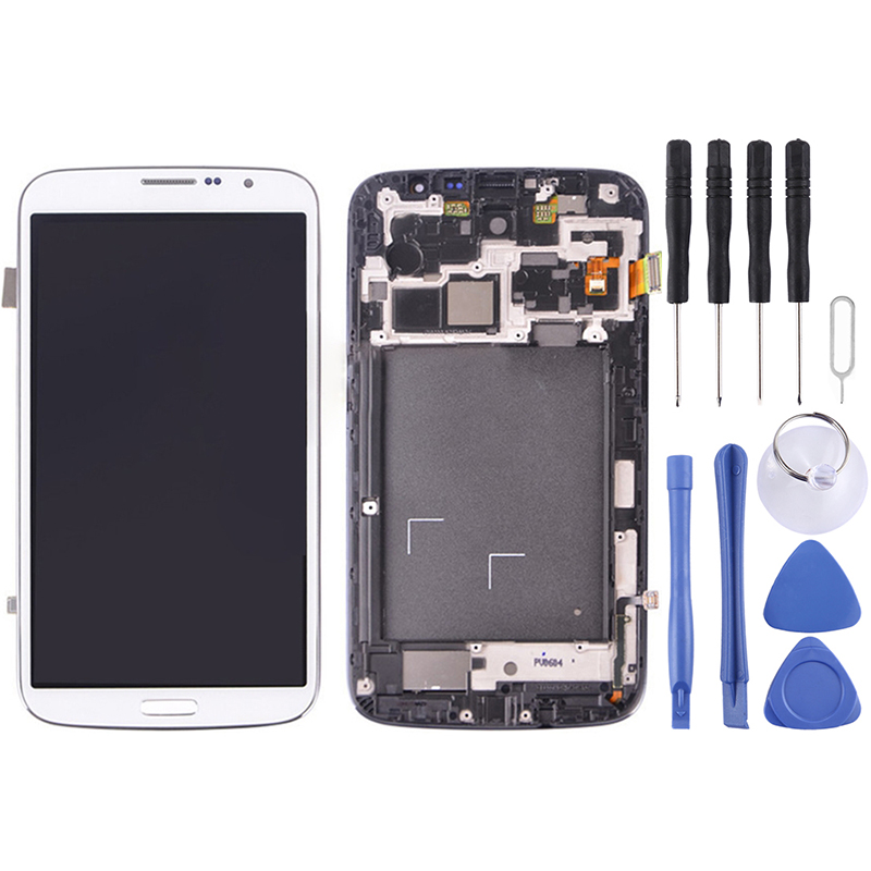 New LCD Screen for <font><b>Samsung</b></font> Galaxy Mega 6.3 / <font><b>i9200</b></font> / i9205 Screen Display Touch Digitizer Assembly Screen AAA Quality image
