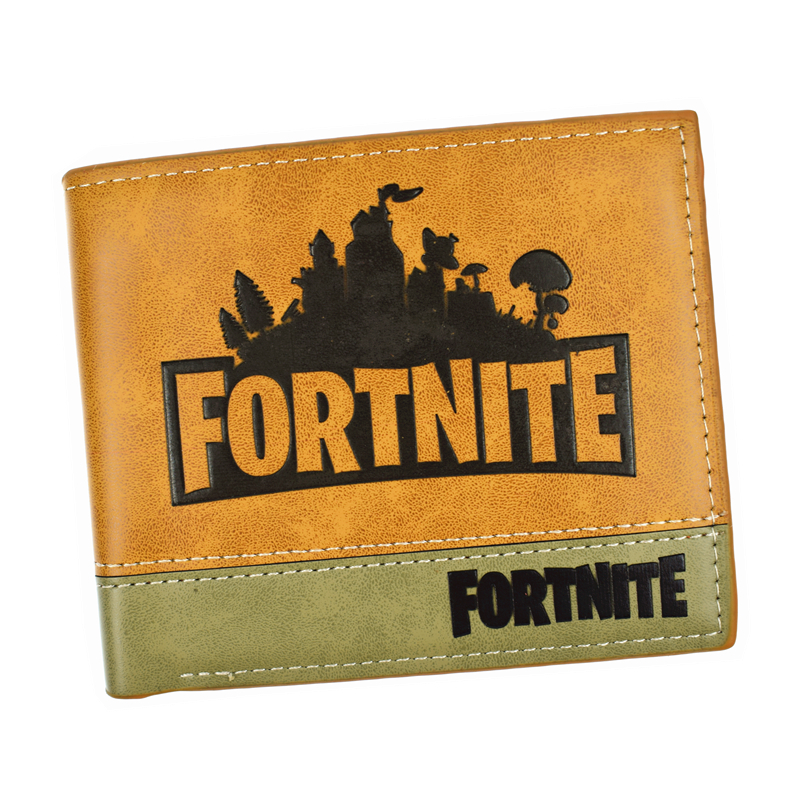 FVIP New Arrival Hot Game Fortnite Wallet High Quality PU Short Purse With Card Holder Man Wallets red dragon man wallet game of throne pu purse fire blood logo wallets portal game short money carteiras portfel