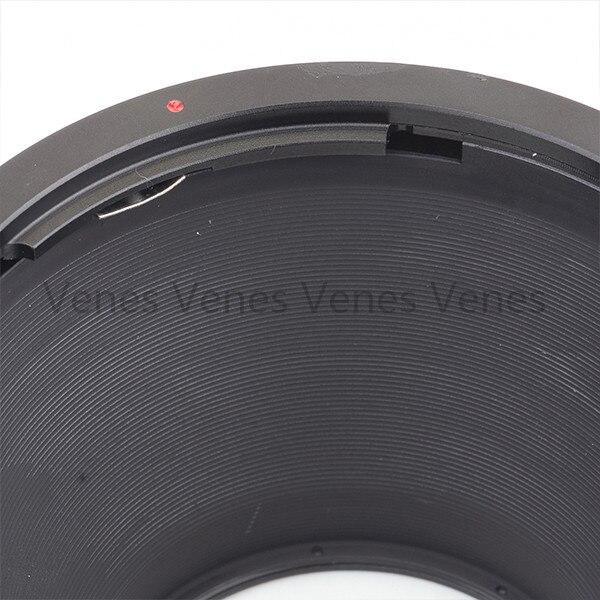 Venes pour PK-67-EOS GE-1 AF confirmer adaptateur de montage d'objectif-combinaison pour Pentax 67 objectif à Canon EOS caméra 4000D/2000D/6D II/200D/77D - 3