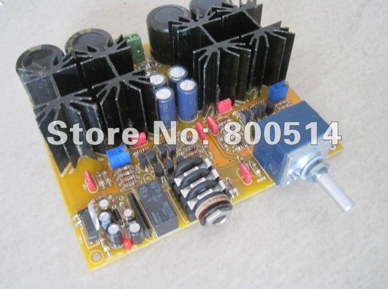 Assemblé E05 Casque conseil amplificateur Classe A casque amp bord avec ALPES 27 type potentiomètre