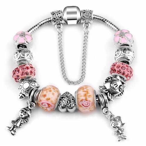 Antique Pink Rhinestone...