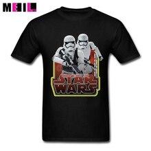 XXXL Stormtroopers Popular Men T-shirt Star Wars Custom Short Sleeve Boyfriend's T Shirts Made