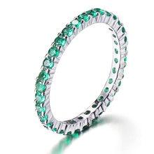 Женские вечерние кольца hermosa большие круглые зеленого турмалина