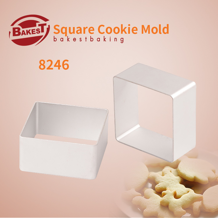 BAKEST 30 шт./лот маленький алюминиевый сплав формочки для печенья нож для бисквита Muilt формы на выбор - Цвет: 8246