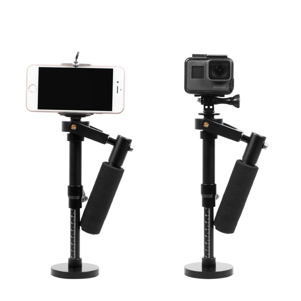 Handheld Camera Stabilizer Mount Phone Stabilizer For GoPro HERO 6 5 4 3 2 Steadicam Iphone 6 7 Plus Smartphone New Arrival