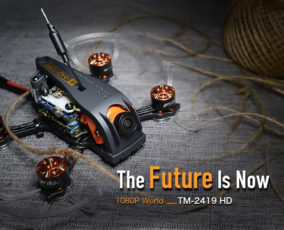 T MOTOR TM 2419 TM 2419 TM 3419 HD MINI drone for FPV beginner and aerial
