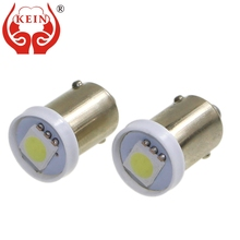 KEIN 10PCS t4w ba9s led car light 5050 smd auto interior license plate signal bulb BA9S led lamp 12V car styling T11 363 white for car lighting 10pcs lot t11 ba9s 5050 5 smd led white light bulb car light source car 12v lamp t4w 3886x h6w 363 mayitr