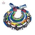 Accesorios africano para Las Mujeres Mujeres Del Estilo de Bohemia Collares y Colgantes Collar Llamativo Cadena de Cuerda Colgante Para Regalo BRW WYS01