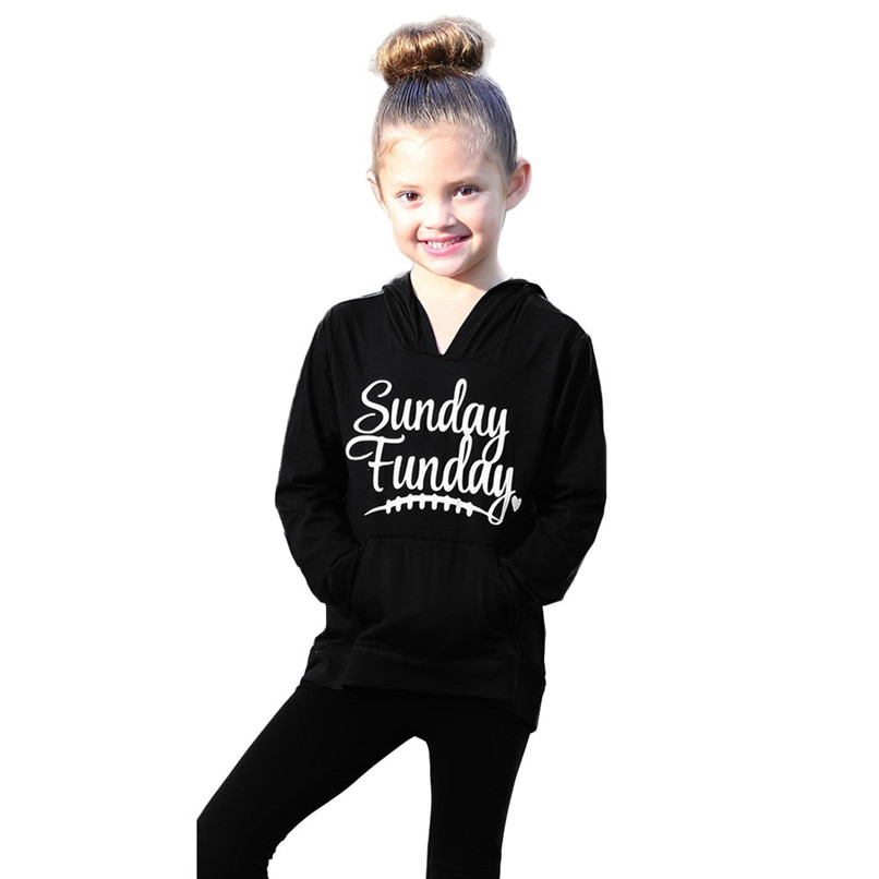 Child Sweater Children\`s Running Jacket Mommy Me Child Girls Boys Long Sleeves Letter Hooded Sweatershirt Family Clothes #2O19#F (18)