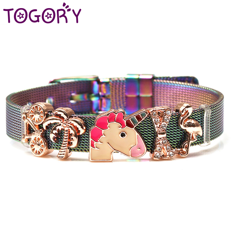 New Fashion Jewelry Stainless Steel Mesh Bracelets Bangles 1