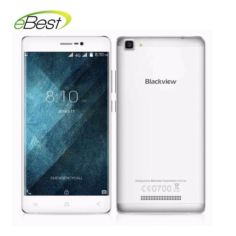 """Цена за НОВЫЙ Blackview A8 MAX 5.5 """"дюймовый 4 г смартфон Android 6.0 Мобильный Телефон MTK6737 Quad Core 5.0 + 8.0 МП 2 ГБ RAM 16 ГБ ROM GPS Мобильного Телефона"""
