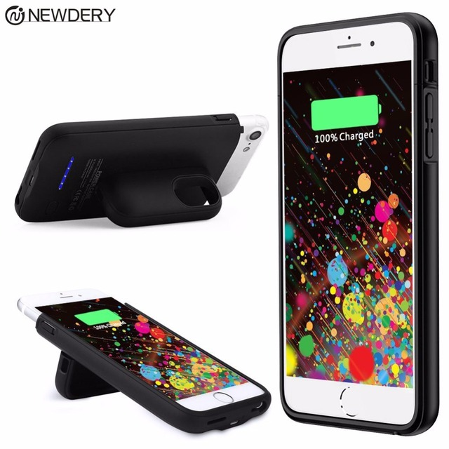 newest collection 71216 71ff8 Aliexpress.com : Buy Battery Case For iPhone 7 Backup Charging Cases for 6  6S 8 Plus External Magnetice Rechargeable Extended Protective Pack 4200mAh  ...