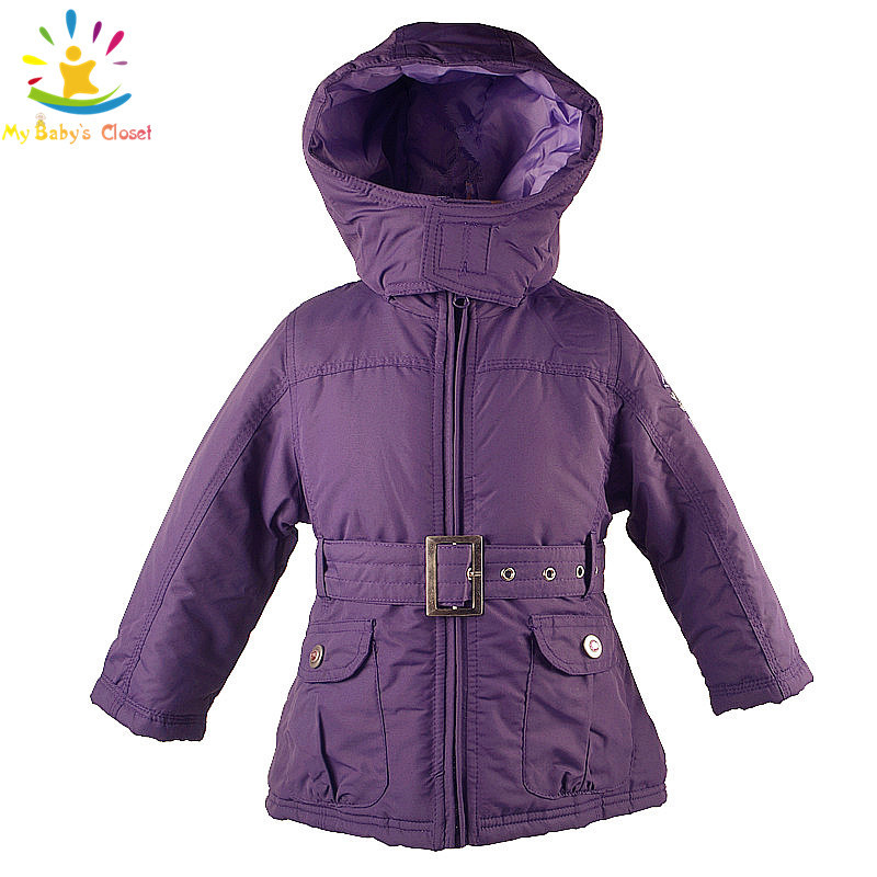 Girls Purple Coats Coat Clothing