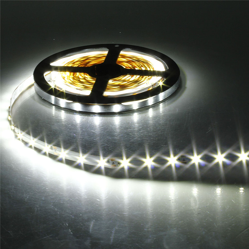 Smuxi 5M DC 12V RGB Flexible LED Strip Light 3528SMD Sting Ribbon Adhesive Tape TV Background Lighting For Christmas Party