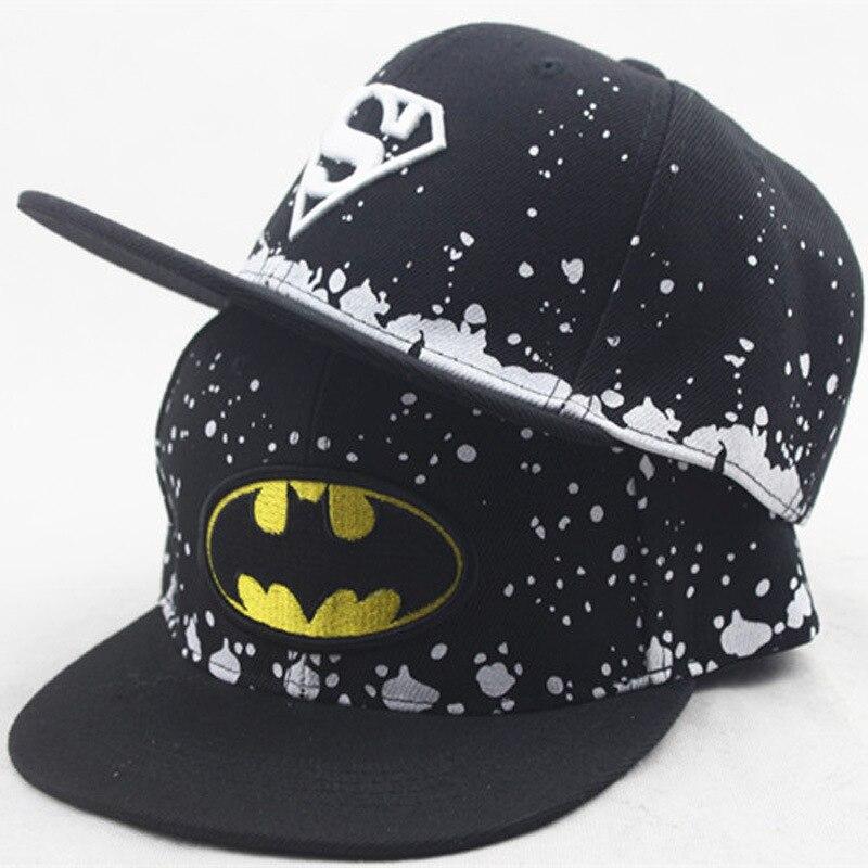 Fashion 2019 Baby Cap Children Hats Adults Snapback Caps Superman Kids Hat