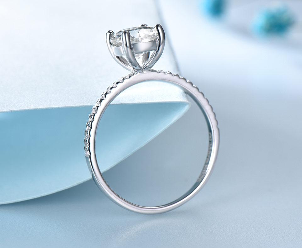 UMCHO CZ 925 sterling silver jewelry set for women S022Z-1 (4)