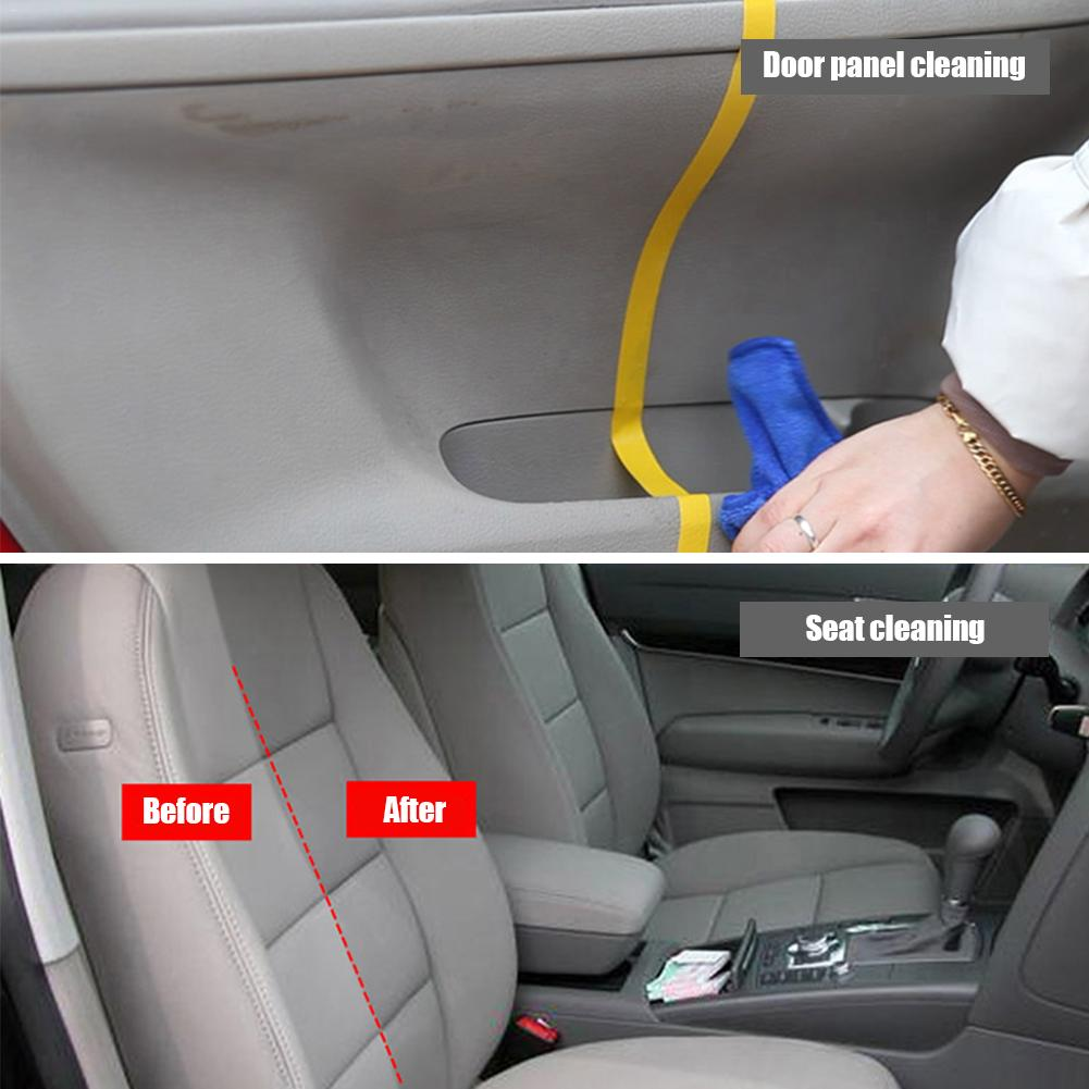 Image 2 - Car Interior Cleaning Agent Ceiling Cleaner Leather Flannel Woven Fabric Water free Cleaning Agent Auto Roof Dash Cleaning Tool-in Leather & Upholstery Cleaner from Automobiles & Motorcycles