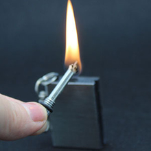 NO OIL Instant Emergency Flint Fire Starter Matches Magnesium Striker Camping Cigarette kerosene Lighter