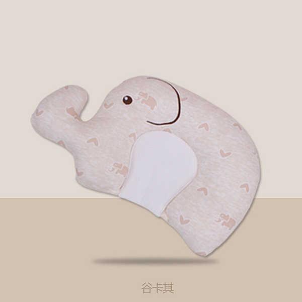 Слоник в форме собаки детские постельные принадлежности Подушка для защиты головы новорожденных Подушка для кормления младенцев анти-ролл для детей ясельного возраста позиционер сна