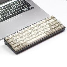 Tada68 механическая клавиатура gateron swtich 65% макет краска-sub колпачки Вишневый профили enjoypbt keycap вишня профиль zealio переключатель