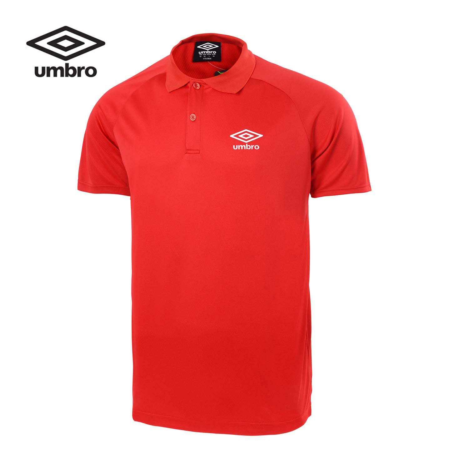 Umbro New Men Sports Short Sleeved Polo Shirt Sport Breathable Sports T-shirt Men UZC63105