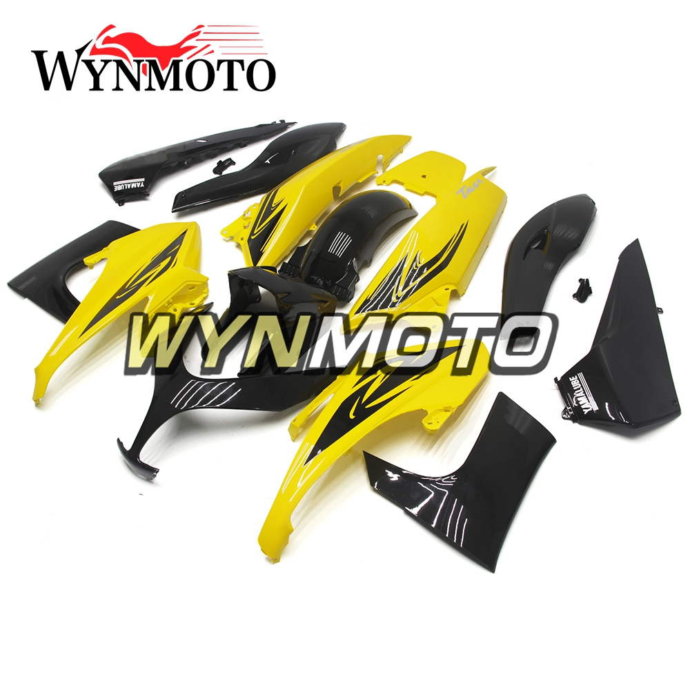 Yellow Black Full ABS Injection Plastics Fairings For Yamaha T-MAX TMAX 500 Year 2008 - 2011 08 09 10 11 Motorcycle Fairing Kit hot sales yzf600 r6 08 14 set for yamaha r6 fairing kit 2008 2014 red and white bodywork fairings injection molding