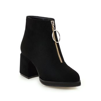 NEMAONE Plus size 34-43 sexy ankle boots woman high heels poined toe thick high boots spring autumn women boots black red gray spring autumn women thick high heel mid calf boots platform woman short boots high heels shoes botas plus size 34 40 41 42 43