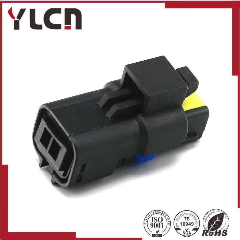 شحن مجاني 2pin FCI المصباح أضواء التوجيه التوصيل مستشعر درجة حرارة الماء موصل ل 211PC022S0049