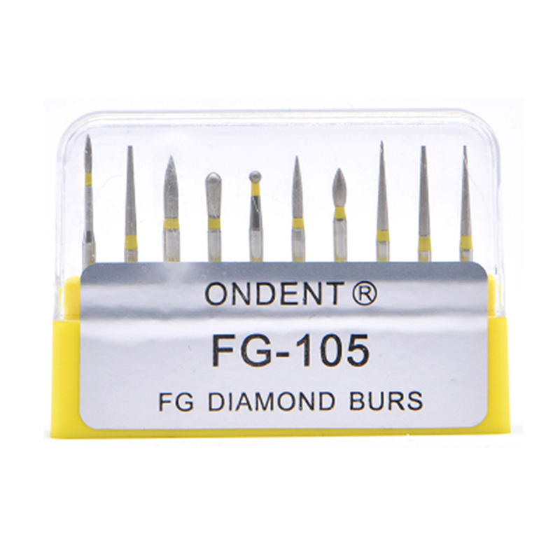 Dental Diamond Burs Drill Dental Burs Dia-burs For High Speed Handpiece Medium FG105 106 Dental Tools Dentistry Lab