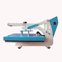 Professional manual flatbed t shirt sublimation printer LCD heat press machine