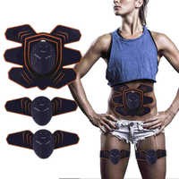Abdominal Muscle Trainer Slimming Lose Weight Abdominal Instrument Body Shaping Sticker Muscle Stimulator
