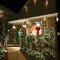 Gramado ao ar livre Luz Laser Céu Estrela Projector Luz À Prova D' Água Paisagem Parque Jardim Luzes do palco Decorações da Festa de Natal